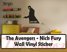 The Avengers Initiative Leader - Nick Fury Vinyl Wall Sticker