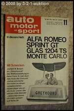 AMS Auto Motor Sport 11/64 Alfa Romeo Giulia Sprint GT Glas 1204 TS