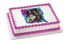 MONSTER HIGH Girls EDIBLE CAKE TOPPER Party Supplies STRIP Decoration Cupcake SQ