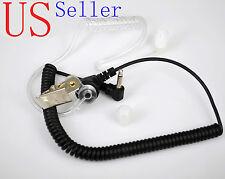 3.5mm Police Listen Only Acoustic Tube Earpiece Headset for Motorola Speaker Mic