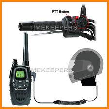 HM-900 Près Du Visage Moto Micro-casque Interphone Midland Radio G8E G12 M99