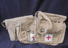 Post War 1937 Pattern Style Webbing Shell Dressing/Medical Bag and Cross Strap