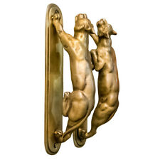 Brass Door Pull Handle Vintage Style Tiger Home Decoration