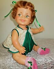 VINTAGE IDEAL BABY GIGGLES DOLL 1960,S 16 INCH