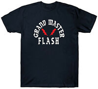 GRAND MASTER FLASH T SHIRT TOP RAP HIP HOP MUSIC