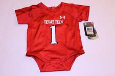 Infant/Baby Texas Tech Red Raiders 0/3 Months #1 NWT Football Jersey Under Armou