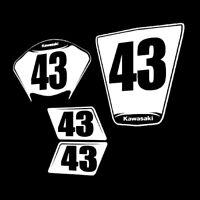 zx10 Numberplates Raceplates 2011-2015 kawasaki zx10 trackday racing number