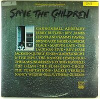 """2x 12"""" LP - Various - Save The Children - #A3164 - washed & cleaned"""