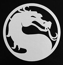 2x MORTAL KOMBAT Bumper Sticker Window Laptop Car Truck Decal Vinyl COMBAT