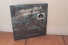 Madison Ward and the Mama bear NEW SEALED vinyl LP Live at Grimeys RSD 2016