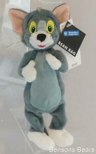 Warner Brothers Store Hanna Barbera Tom Cat Bean Bag Plush 22cms 1999 With Tags