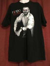 Vintage Ringo Starr And His All-Starr Band T-Shirt XL Black New