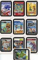 Wacky Packages Stickers Series 9 Cereal Box Lame Games Sticker Card Set Topps