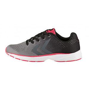 Hummel Aero 1 Grey/Black Sportschuh Sneaker Laufschuh Damen Mädchen Sport