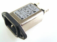 Bulgin PS620/3A Mains Filter IEC Input Socket 250VAC 3A 40'C OM0387F