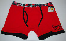 Joe Boxer Short Men Size XL Extra Large Red Chocolate Candy NEW