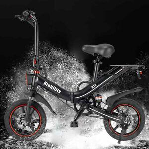 B14 Folding Electric Bicycle 400W E Bike 14 Inch 48V 15Ah 80 KM range Adult Bike