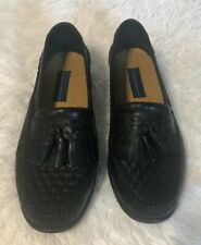 Giorgio Brutini Men's Loafer Black Size 12 M leather Uppers Slip On Style