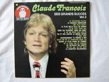 CLAUDE FRANCOIS 33 TOURS HOLLANDE SES GRANDS SUCCES 2