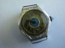 Vintage Etna Art Deco Ladies Wristwatch 20 KT Rolled White Gold
