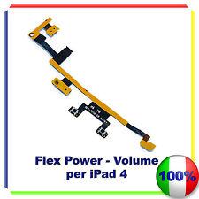 Flat Flex Tasto Accensione ON/OFF Volume Vibrazione Power iPad 4