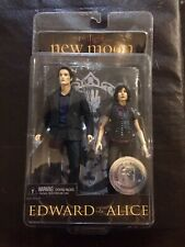 TWILIGHT NEW MOON NECA REEL TOYS EDWARD AND ALICE 2 PACK BRAND NEW