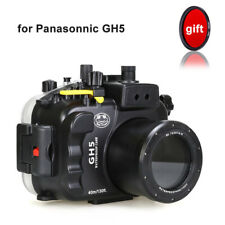 Seafrogs 40m Underwater Camera Housing Protective Case for Panasonic Lumix GH5