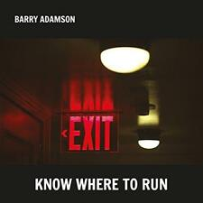 Barry Adamson - Know Where To Run (NEW CD)