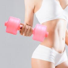 Water Filled Women Adjustable Plastic Fitness Dumbbell
