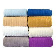 Santa Barbara Waffle Weave Blanket 100% Cotton-50% OFF