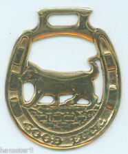 GOOD LUCK CAT     Horse brass  (N520)                (I always combine shipping)