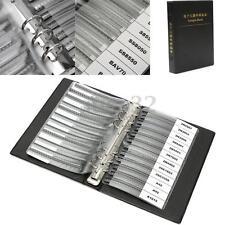36 kinds x25 900pcs SMD Chip Transistor Assorted Sample Book  Assortment Kit