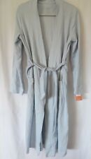Gilligan & O'Malley Wrap Robe Long Sleeve Sash Tie Blue XS / S   #7520