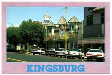 Kingsburg California Postcard Swedish Village Coffee Pot Water Tower Unposted