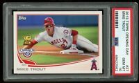 2013 TOPPS OPENING DAY ROOKIE CUP #27 MIKE TROUT PSA 10 GEM MINT~ ANGELS MVP