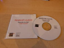 MARVIN GAYE - MARVIN IS 60 - FRENCH  PROMO CD!!!!!!!