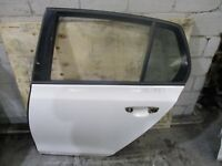 GENUINE 2008 VW GOLF TSI MK6 2007-09 LEFT REAR DOOR SHELL White (Code: LB9A)