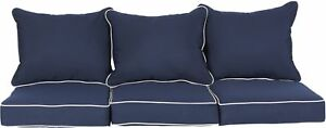 6-PC Cushion and Pad Set Sofa Accessory Furniture Patio Indoor Outdoor Seat NEW