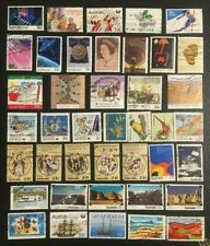 Australia Collection Of Mostly More Modern Stamps, 2 Pics