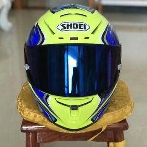 Moto GP  Motorcycle Full Face DOT Motocross X14 Yellow Daijiro New Racing Helmet