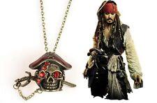COLLANA PENDANT PIRATI DEI CARAIBI Pirates of the Caribbean Johnny Depp   CASS:M