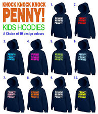 Knock Knock Knock Penny Childrens Kids Unisex Kids Hoodie The Big Bang Theory