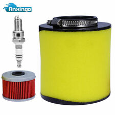 Air Filter & Oil Filter & Spark Plug for Honda Rancher 350 / Foreman 400 & 450