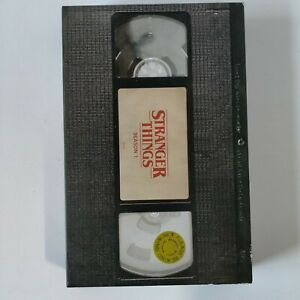 Stranger Things Season 1 DVD & Blu-Ray Netflix Series. Collector VHS Tape Cover