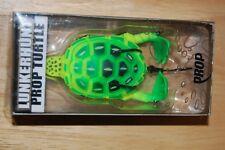 lunkerhunt prop turtle bass topwater color turtle03 neon