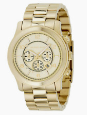 Michael Kors  MK8077 Runway Chronograph Gold Tone Stainless Steel Men's Watch
