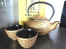 Rikyu Cast Iron Japanese Tea Set