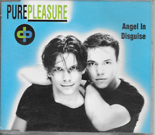 PURE PLEASURE - Angel in disguise CDM 4TR Euro House Synth-Pop 1996 (Zyx)