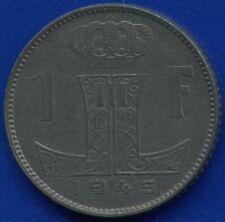 1945 Belgium 1 Franc Coin