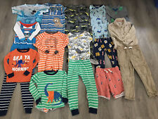 Toddler Boys Clothing Lot, 18 Items, 4T, Thomas The Train, Carter's, Place